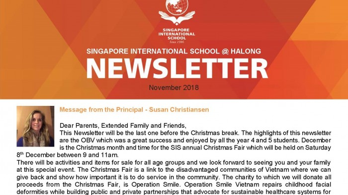 Newsletter November 2018 - SIS@Halong - EN_Page_1
